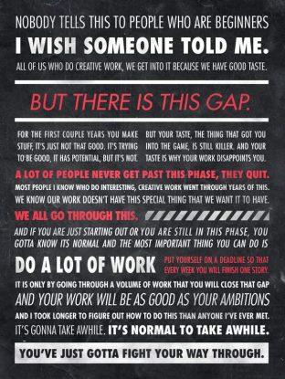 Ira Glass Gap